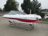 Bateau de vitesse de fibre de verre de la Chine Aqualand 17feet 5.2m/bateau pouvoir de sports/bateau de pêche/canot automobile (170)