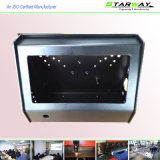 黒色火薬のレーザーの切断の金属のキャビネットボックスによる上塗を施してある製造のキャビネット