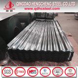 Tuile de toit ondulée enduite de zinc de Gi de SGCC Z150
