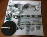Operador telescópico da porta para a única ou porta telescópica dobro, automática