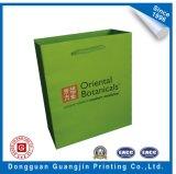 Colorful publicité promotionnelle Kraft Paper Shopping Bag