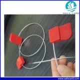 Braçadeira RFID de plástico ajustável de comprimento para gerenciamento de ativos