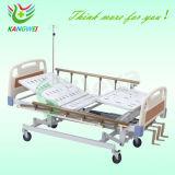 Soins infirmiers ABS Hospital Medical ICU lit avec trois manivelles multifonction (SLV-B4026)