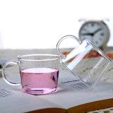 Insieme di vetro stabilito bevente stabilito di vetro promozionale della tazza di caffè della tazza del regalo della tazza di tè