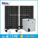 Sistema di generatore domestico solare di vendita caldo di illuminazione del comitato solare 100W