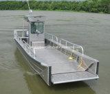 Bote de desembarco de aluminio de 8 metros para el transporte mar interior