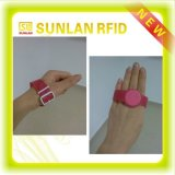 Key Fob로 선전용 Smart RFID NFC Hand Bracelet Silicone Rubber Wristband