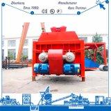 Misturador Js3000 concreto pequeno para a planta do concreto Hzs180