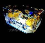 Cubeta de gelo feita sob encomenda do diodo emissor de luz do plástico