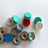 Protezione di plastica di alluminio del metallo di colore con il tappo di gomma per la fiala di vetro