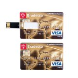 Mecanismo impulsor de destello de la tarjeta de crédito de encargo de la pluma del USB del mecanismo impulsor de la pluma del regalo de 1GB 2GB 4GB 8GB 16GB 32GB 64GB