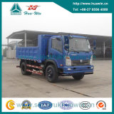 Cdw 5 Ton 90HP 4X2 Light Duty Tipper Dump Truck