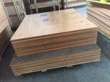 18mm de color liso Antihumedad pegado de madera contrachapada para mueble y muebles