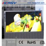 Vídeo a todo color al aire libre LED de P10 SMD que hace publicidad de la visualización