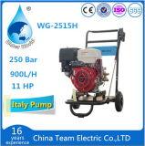 Motor de gas con la arandela y las ruedas de alta presión