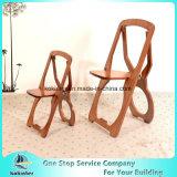 Mobília de bambu do bambu da cadeira de dobradura da cadeira da madeira compensada de bambu
