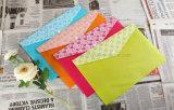 Sac coloré de dépliant de fichier avec la taille et l'illustration différentes pour la promotion et les affaires