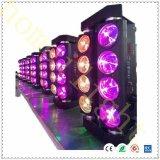 LEIDENE Spin die het Hoofd Lichte 8PC Licht van de Partij van de Disco van RGBW bewegen