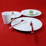 Articoli per la tavola impressi rotondi della Cina degli articoli per la tavola di ceramica