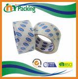 Qualitäts-Zoll brannte Firmenzeichen gedruckten Kristall - freies Verpackungs-Band ein