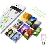 WiFi intelligente Glühlampe, Arbeiten mit Alexa, Dimmable mehrfarbige Farben-ändernde Lichter, Smartphone frei APP-Steuerung
