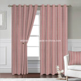 100% poliéster encogimiento del hilo jacquard tela de la cortina en el Pozo cortinas