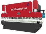 Na/NF CNC Prensa Hidráulica Máquina de Dobragem de dobragem do freio, Placa/ máquina de dobragem de chapas metálicas Wc67 100t-4000