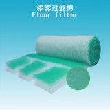 filtro del suelo de los media de filtro de la parada de la pintura de 50m m para el filtro de extractor de la cabina de aerosol (precio de fábrica)