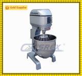 60 misturador de alimento planetário da cozinha da velocidade do litro 3 do litro 100 do litro 80 para a padaria