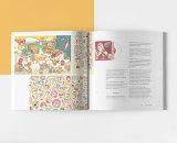 A todo color de impresión de libro perfecto