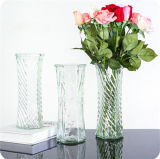 De de mooie Vaas van het Glas van het Ontwerp/Ambacht van het Glas/de Vaas van het Glas voor de Decoratie van het Huis