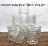 ガラス蝋燭のコップの装飾のロウソクのホームガラス製品