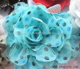 Accessori decorativi dell'indumento del fiore multicolore chiffon di Headwear di modo