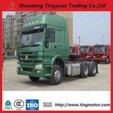 판매를 위한 Sinotruk HOWO 6*4 420HP 트랙터 트럭 또는 원동기