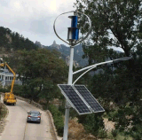 400W Renewable Energy Vertikale Windturbine / Wind Generator System