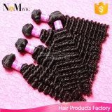 Virgem humana peruana natural tecelagem de cabelo