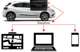 Système de recherche du véhicule GPS de GPRS GM/M avec la plate-forme en ligne de Web