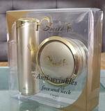 Caixa plástica do presente da impressão Offset do OEM para cosméticos (caixa do PVC)