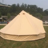 Fireproof Germany Customized Printing 6 person Bell Tipi Tent