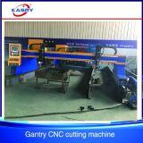 Máquina de estaca automática do plasma do CNC do pórtico da placa de aço de metal de folha