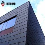 Aluminium-Außenwände der Ideabond Metallbaumaterial-PVDF