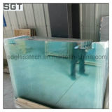 Toughened Glass 10mm 12mm 14mm polished Edges with Ce