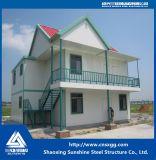 두 배 층 현대 Prefabricated 집