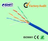 Cable barato Manfuacturer del ADP de Shenzhen del conductor del cable de LAN de la alta calidad UTP Cat5e de la fábrica CCS