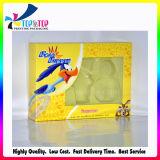 Fabricante Shenzhen cremas faciales cosméticos Caja de papel con ventana de PVC