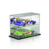 Exhibición de acrílico de caja para juguetes, caja de acrílico transparente