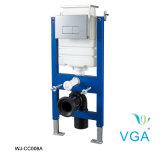 Скрытые бачки изготовлены из пластика повышенной прочности с двумя Wj-Cc клапана промывки008A