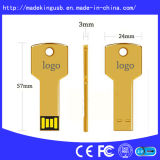Metal Key Shape USB Flash Drive (USB 2.0 / 3.0)