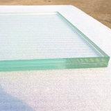 15mm super grand transparent en verre feuilleté trempé