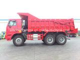 Sinotruk HOWO 6X4 팁 주는 사람 트럭 60 톤 Zz5707s3840aj